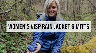 Women's Visp Rain Jacket & Mitts | Apparel Line