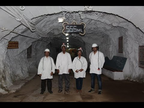 Very rare Interview on DARK MATTER done half a kilometer below Earth's surface in a Uranium mine!