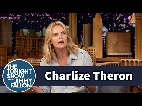Charlize Theron's Son Is So Over Iron Man's Wardrobe