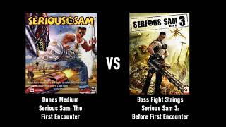 Serious Sam OST Mashup - Dunes Medium (TFE) VS Boss Fight Strings (BFE).