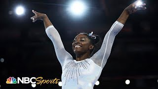 Simone Biles: the GOAT wins her 5th world title by record margin | NBC Sports