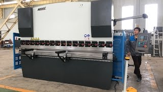 ACCURL 125 TON x 10' NC Hydraulic Press Brake | Sheet Bending Machine for Stainless Steel Forming