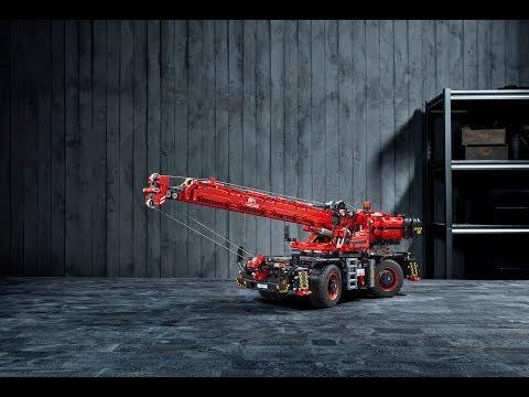 LEGO® Technic - Подъёмный кран для пересечённой местности