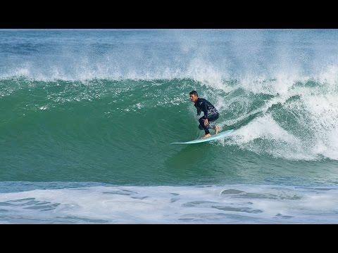 Longboard Surfing on Langebaan Lagoon Cape Town South Africa