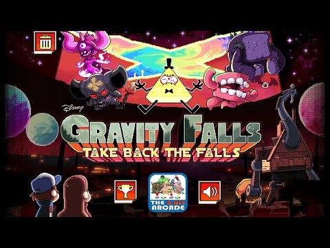 Gravity Falls: Take Back The Falls - Weirdmageddon, Levels 1-6 (Disney Games)