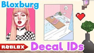 CUTE COLOR & AESTHETIC DECAL IDs // Bloxburg