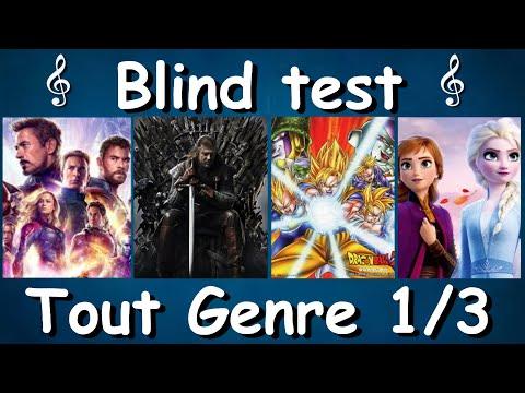 BLIND TEST, TOUT GENRES, PARTIE 1/3 - FILMS, SERIES, DESSINS ANIMES, ANIMATION JAP