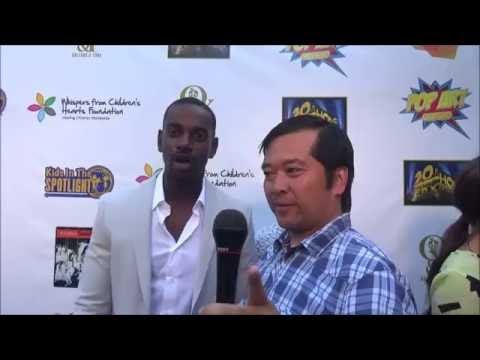 Mo McRae  at the Kids in the Spotlight Charity Event