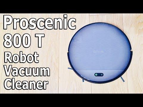 ДЕШЕВЫЙ Моющий Робот- пылесос Proscenic 800T II Враг ШЕРСТИ!