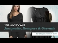 10 Hand Picked Jumpsuits, Rompers & Overalls By Zeagoo, Winter 2017