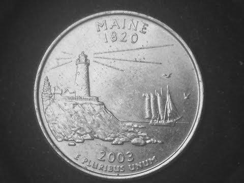 2003 State Quarter: Maine