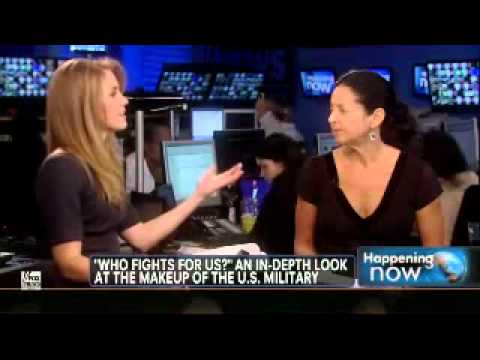 Ann Marlowe Discussing the Demographics of the Military on Fox News