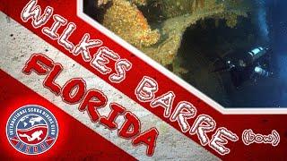 Wilkes Barre Bow Tec Wreck Scuba Dive | Key West, Florida