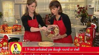 Inside The Sun-maid Kitchen Video: French Raisin Apple Pie