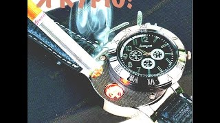 №2 Обзор на часы с прикуриватилем!