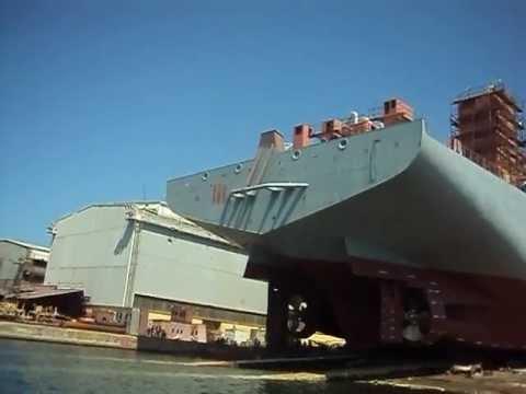 "Porinuće ""Bartolomeu Dias"" Uljanik Shipyard"