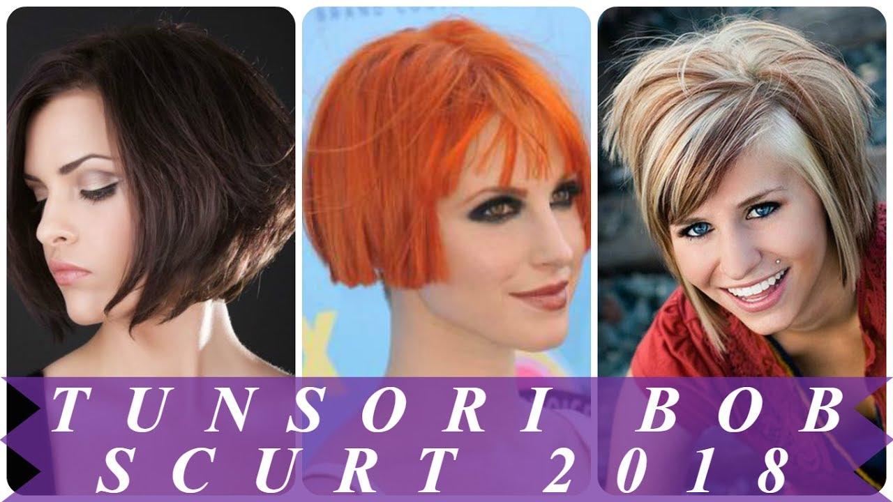 Modele De Tunsori Bob Scurt 2018 Youtube