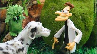 МЫ УМЕНЬШИЛИСЬ 2 СЕРИЯ Мультфильмы про животных для детей АТАКА МИКРОБОВ