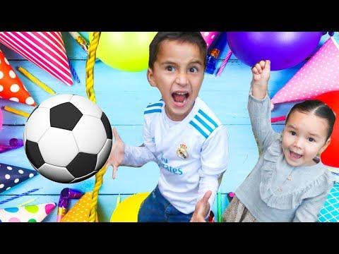 Fiesta CumpleaÑos Mateo #6 De Soccer  Playworldtv