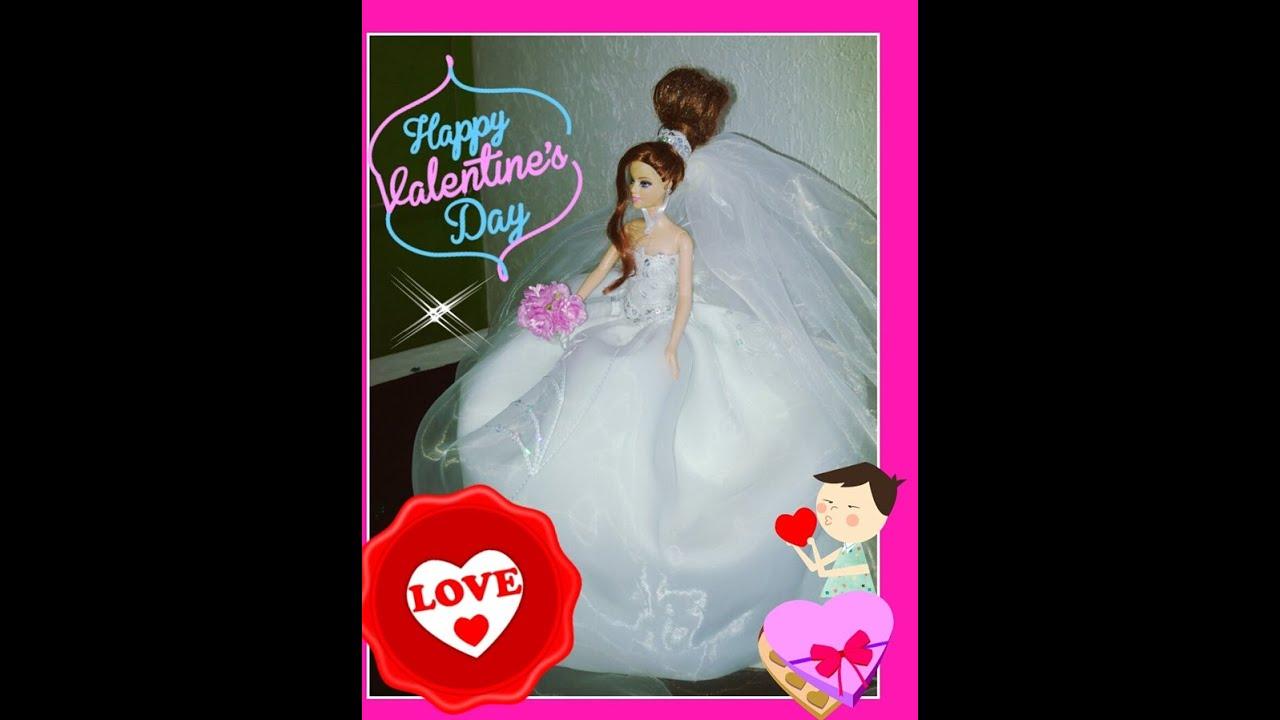 Imagenes de barbie vestida de novia
