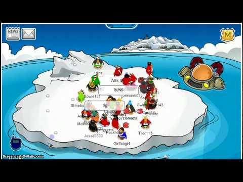 Club Penguin Rockhopper December 2009 Coins For Change