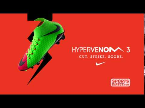 buy online 697fb 5a04c Nike Hypervenom III Launch TV Commercial - YouTube