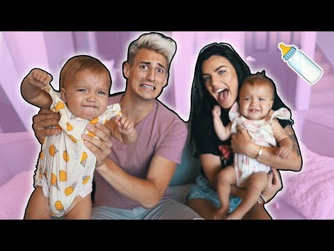 Thumbnail: GIRLFRIEND PREPARES ME FOR FUTURE w/ TWIN BABIES! (family planning)