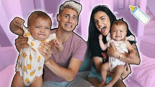 GIRLFRIEND PREPARES ME FOR FUTURE w/ TWIN BABIES! (family planning)