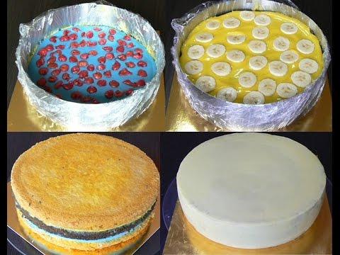 Сборка и выравнивание торта под мастику