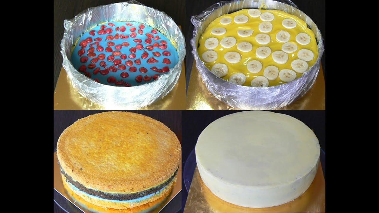 двухъярусные бисквитные торты рецепты с фото с мастикой