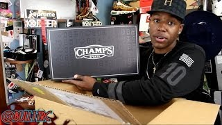 Unboxing From Champs Sports | Thank You!