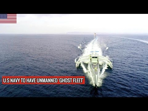 U.S NAVY GHOST FLEET WILL BE HAVE LARGE UNMANNED SURFACE VESSELS (LUSV) !!