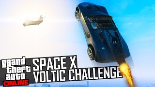 SPACE X VOLTIC CHALLENGE | GTA Online (feat. Flabaliki)