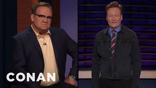 "Andy Supports Meghan McCain's Decision To Walk Off ""The View"" - CONAN on TBS"