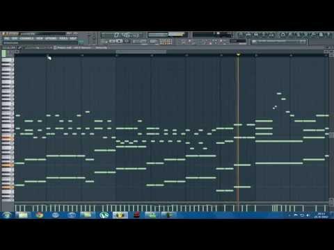 Zedd - Spectrum / Porter Robinson - Language (Fl Studio Piano version)