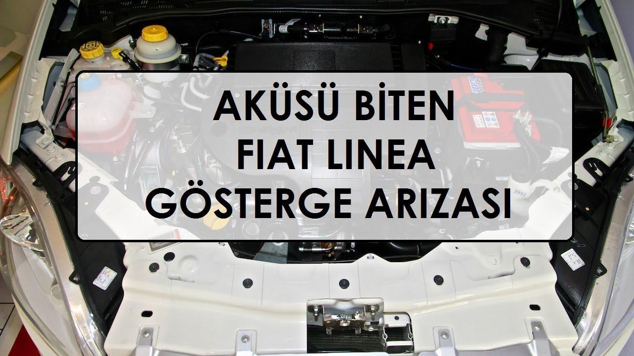 Aküsü Biten Fiat Linea Gösterge Arızası - YouTube