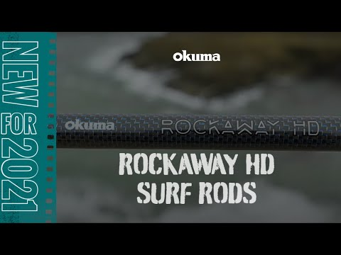 Okuma Rockaway Hd Surf Rods New 2021 Youtube