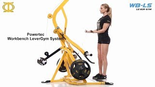 Powertec Workbench LeverGym Gym System (WB-LS16)