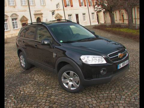 Essai Chevrolet Captiva 2010 Youtube