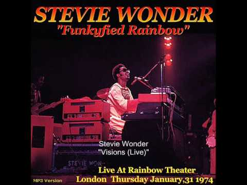 Stevie Wonder - Visions (Live at the Rainbow Theater)