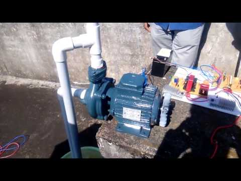 Solar PV Based 3phase induction motor Water pump