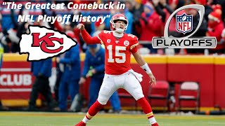 """Kansas City Chiefs vs Houston Texans Highlights """"The Greatest Comeback in NFL Playoff History!"""""""