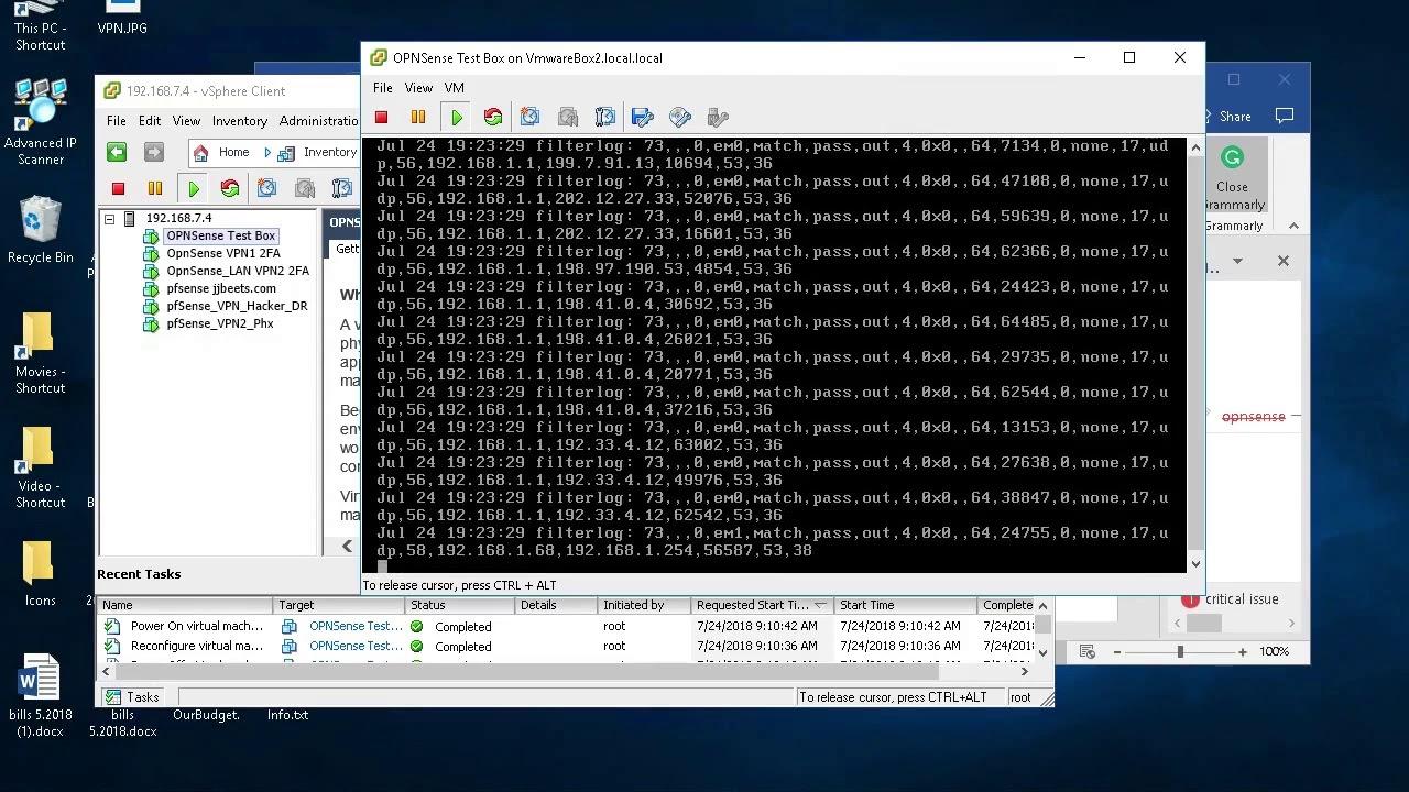 Opnsense 2FA and SSL Vpn setup