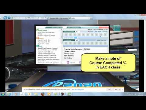 E2020 Pacing Calculator - YouTube