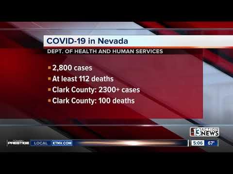 COVID-19 In Nevada Update For April 12, 2020