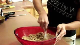 Body By Vi. Non Shake Recipe Video. Energy Bites... Vi - Cee Channel