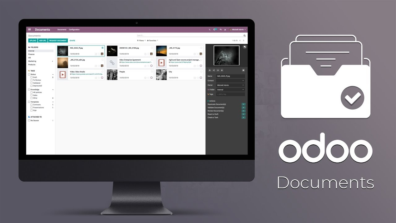 Odoo Documents: Document Management System
