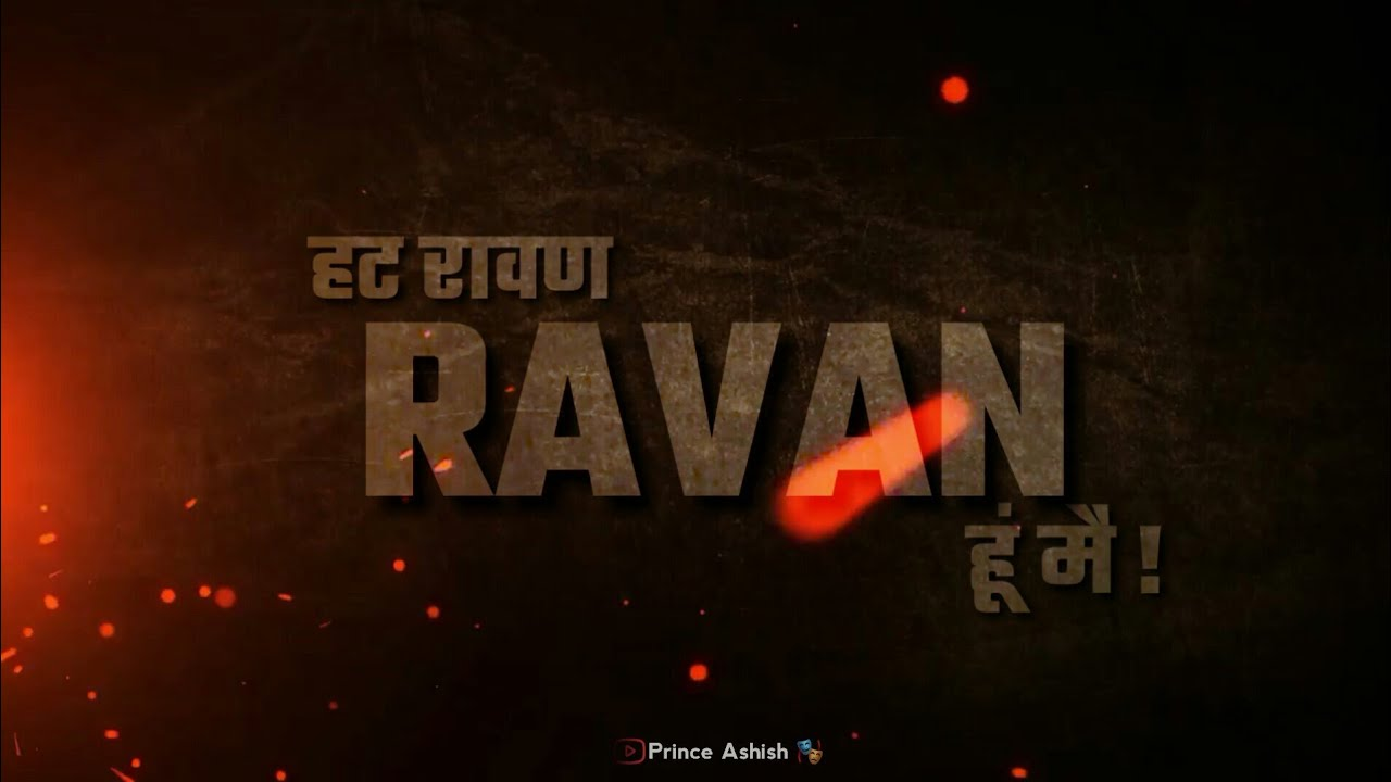 Ravan Ravan Hoon Main Rock D Ansh Pandit New Whatsapp Status 2020 Youtube