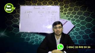 Haci Ilkin Quran dersi Tecvid-Mim sakinin hokumləri