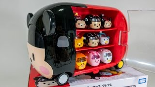 Disney Tsum Tsum Cars Storage Case Disney Motors Mickey Minnie Mouse Takara Tomy PIXAR